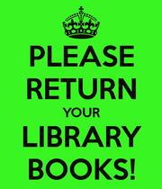 Library Books Due
