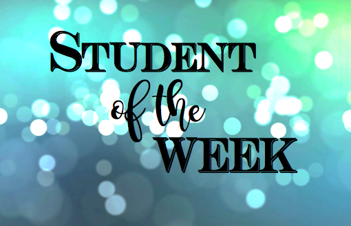 Student of the Week: October 30, 2017