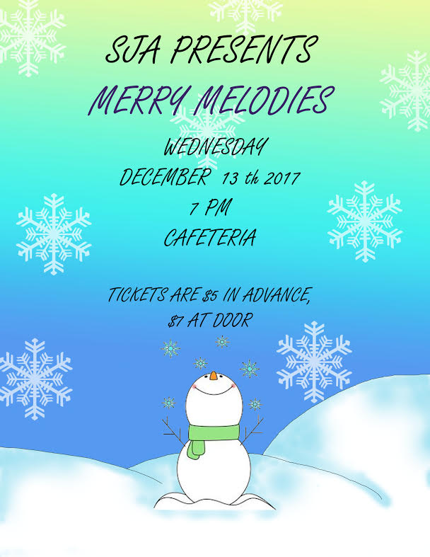 SJA PRESENTS:  MERRY MELODIES CHRISTMAS 2017