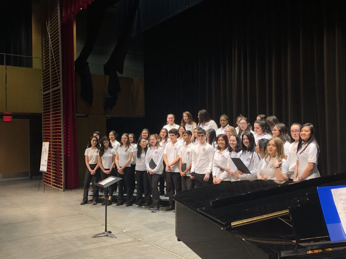 CONGRATULATIONS! The SJA Choir WINS SILVER PLUS STANDING!