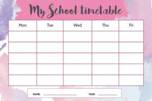 IMPORTANT MESSAGE: Understanding Your School Schedule for 2020/2021